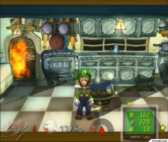 Luigi in the Kitchen
